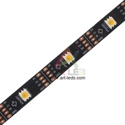 Waterproof mini 3535 rgb led strip 60led digital 60 pixels
