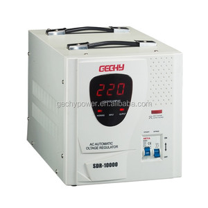 OEM SDR 10000VA Relay automatic LED display AC single phase voltage stabilizer