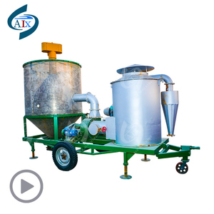 Portable mobile paddy wheat maize dryer machine