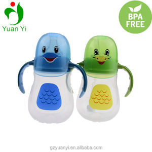 Colorful Leak Proof PP Baby Training Sippy Cups With Lid