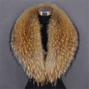 Custom Size Faux Fake Fur Collar