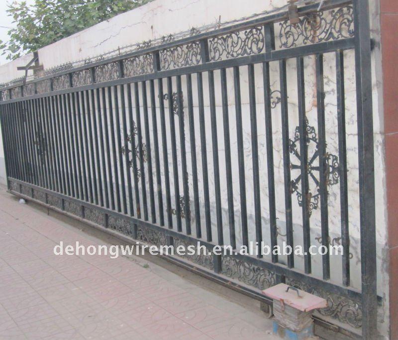 Puertas correderas de hierro de f brica vallado - Puertas correderas hierro ...