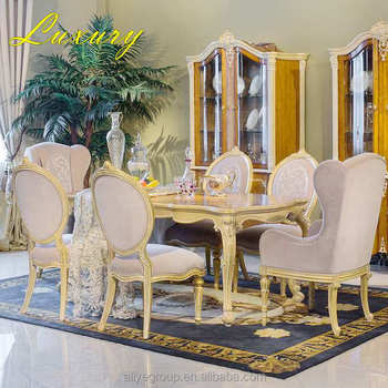 Wholesale antique royal classic italian dining room sets MF9114, View  classic italian dining room sets, ALIYE Product Details from Foshan Aliye  Home ...