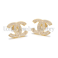 Replica jewelry Newest styles wholesale sterling silver earring