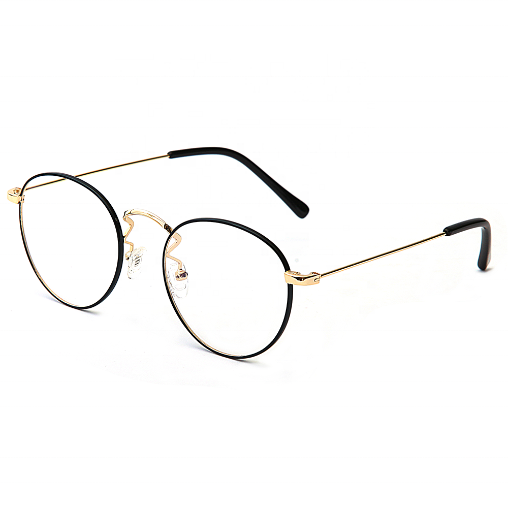 376582d6748 Brand designer prescription glasses korea retro style round metal png  1000x1000 Retro style glasses