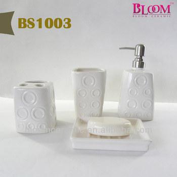 Ceramic bath gift sets wholesale buy bath sets wholesale for Bathroom sets for men