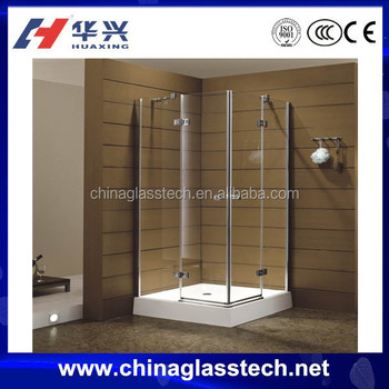 CE Certificate Heating Warming Interior Glass Shower Enclosure
