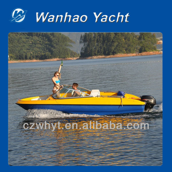 WH550 outboard water sports ski boats