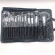 15 Piece Make Up brush Professional Superior Soft Cosmetic Makeup Brush Set with Pouch Bag