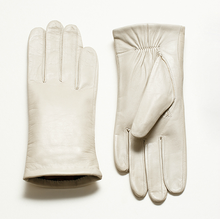 fashion mens winter white dress leather gloves