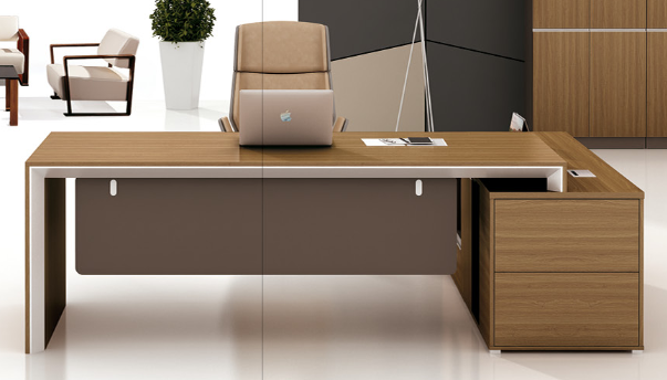 Guangzhou High Quality Government Office Leader Furniture Desk For Foh Knc241