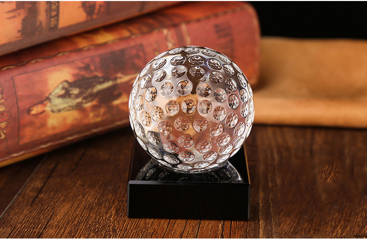 Sandblasting K9 crystal glass round ball Map Glass Crystal Gold globe balls 40mm 60mm 80mm 100mm for Photography