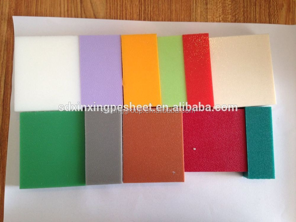 Hdpe Kleur Core Laminaat Lakens Kunststof Platen Product