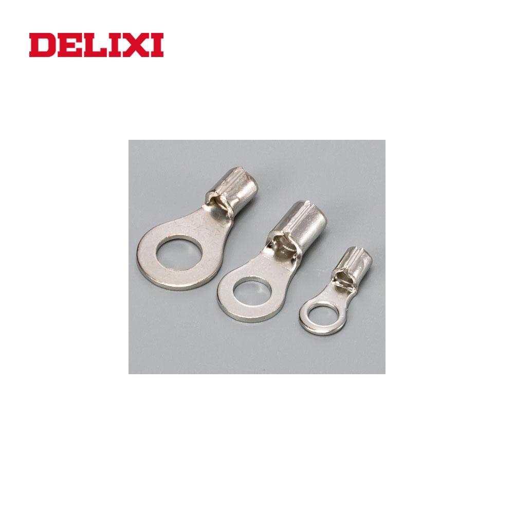 を DELIXI コネクタ & 端子 OT UT コールドプレス TO-JTK 真鍮銅圧着端子ラグバッテリー圧着端子