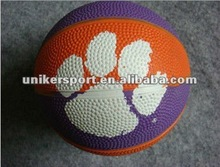 size 1 cheap promotional rubber basketball
