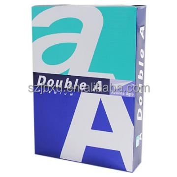 Excellent a4 size white copy paper double A factory in China