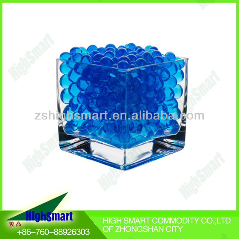 10g Packaging Round Shape Blue Soild Ball Crystal Soil
