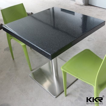 marble top dining table square korean height and chair