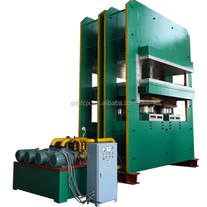 Frame type good quality OEM rubber vulcanizing press with two hydraulic cylinder in china factory