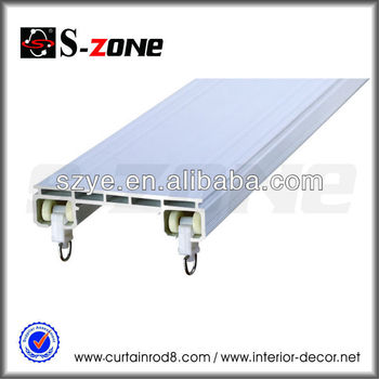 Sdc01 Adjustable Suspended Double Ceiling Mounted Curtain Track ...