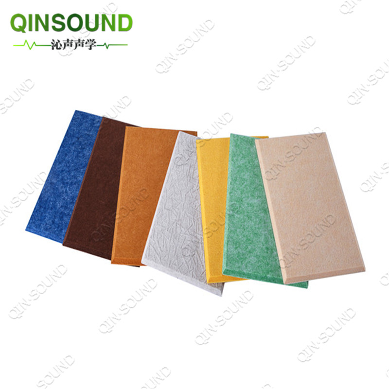 2018 QinSound High Density Furniture Pinboard Acoustic Polyester Acoustic <strong>Panel</strong> PET Felt Sound Absorbing Ceiling Acoustic <strong>Panels</strong>
