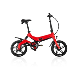 16NF1 Factory wholesale fold 20 inch 14inch ebike, e small folding bicycle