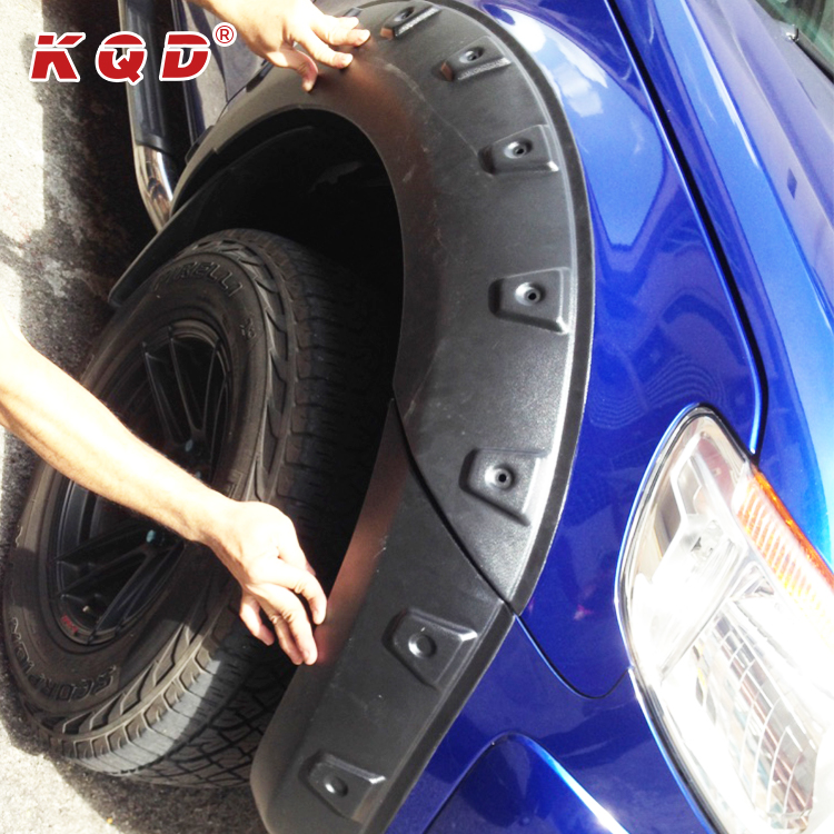 Cheap price perfect fit fender flare wheel cover ABS Plastic fender flare for ranger t6 parts