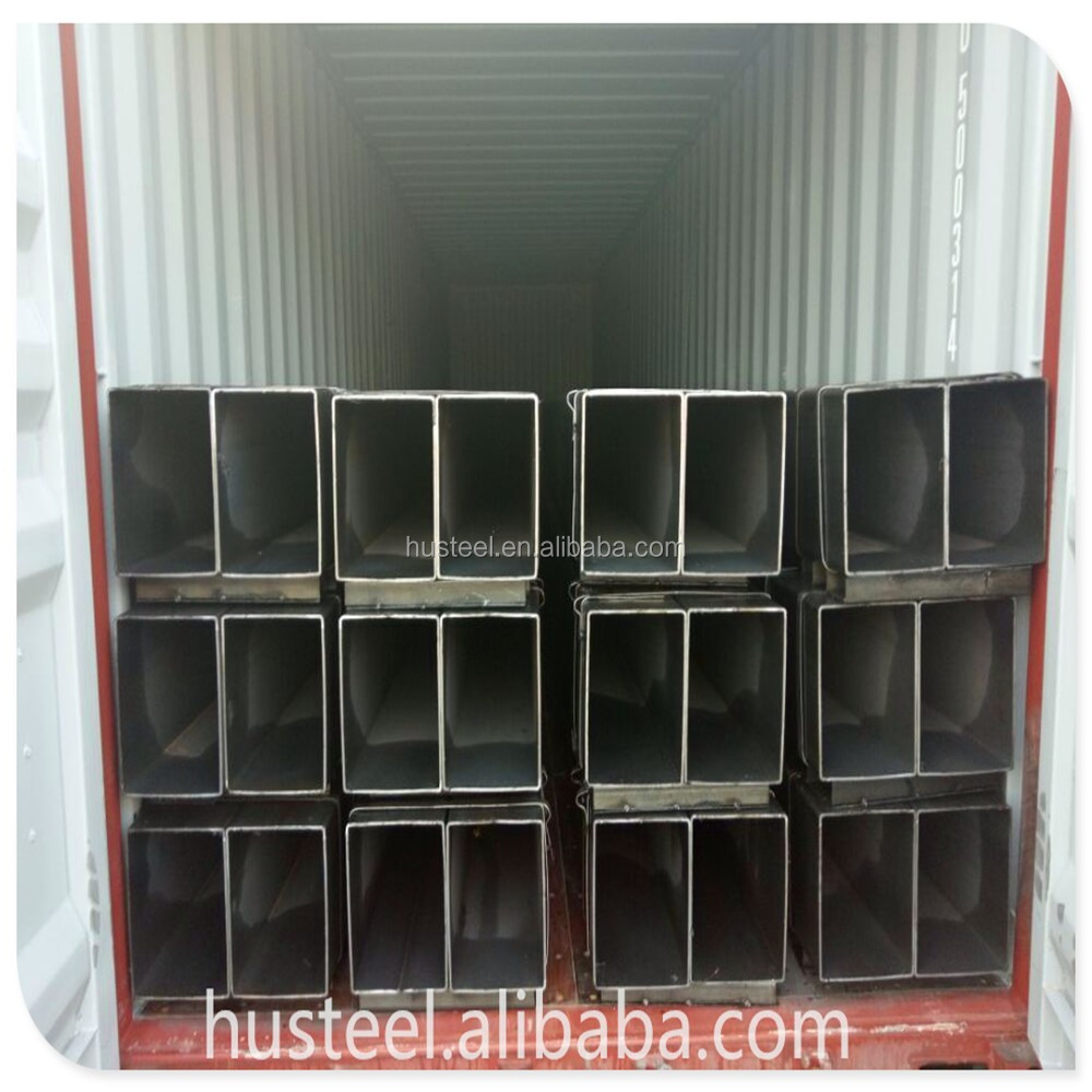 ASTM A500 EN 10219 EN10210 Hollow Section Square Tube square steel pipe rectangle pipe for construction