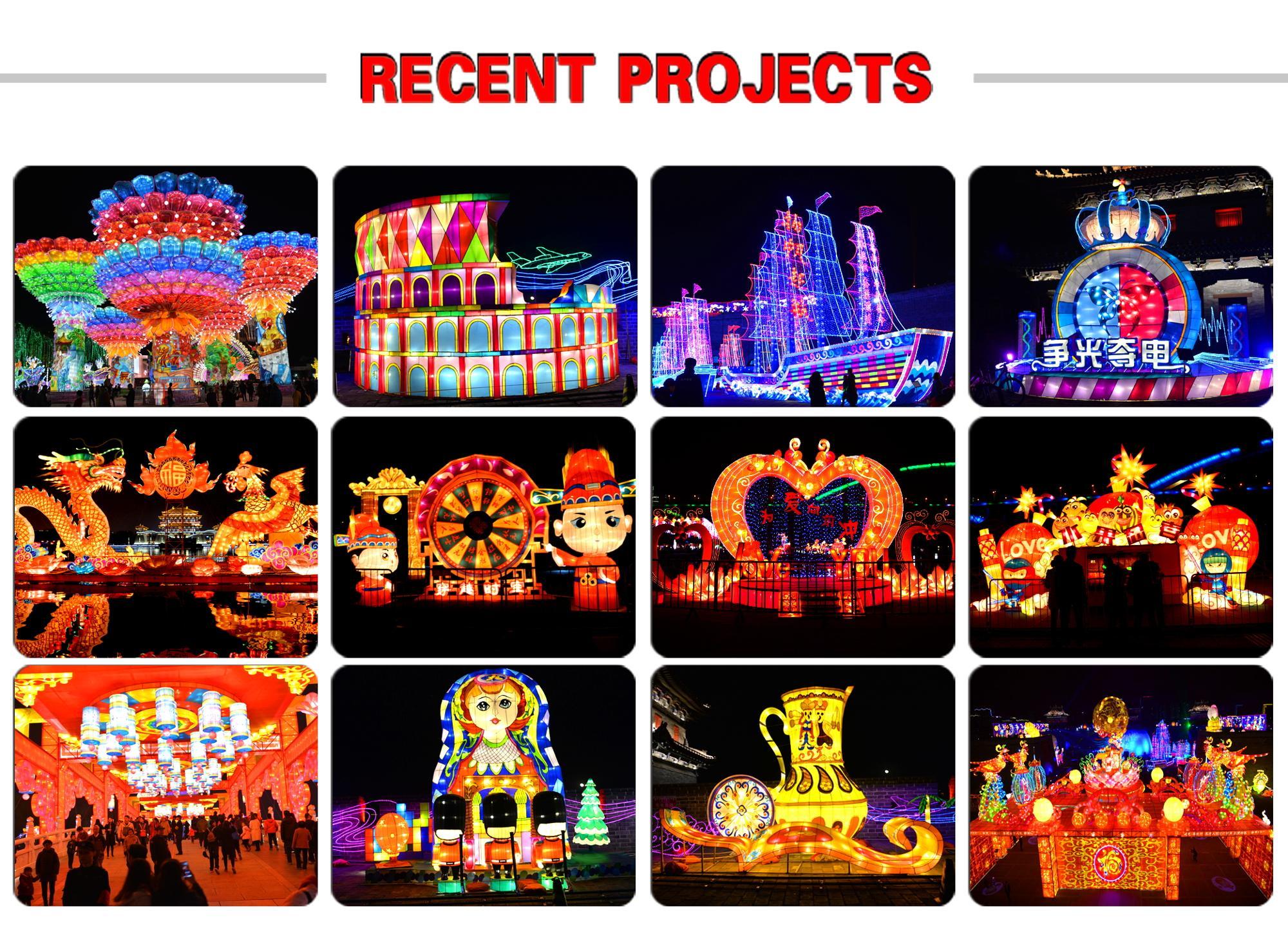 Popolari del commercio all'ingrosso colorful vietnam lanterne di seta per la festa di Primavera