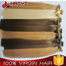 Ash Blonde Popular in Europe unique quality flat tip human hair extension