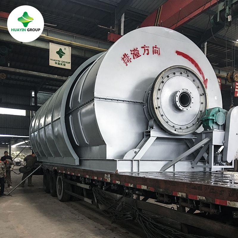 5th Generation OLD TIRE OIL EXTRACTION MACHINE
