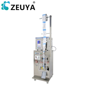 2019 new design plastic bag 1-50g sachet washing powder packing machine manufacturer