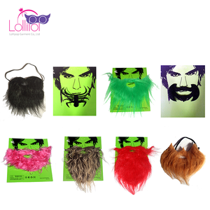 Halloween carnival festival accessories party fake beard, fake moustache for sale