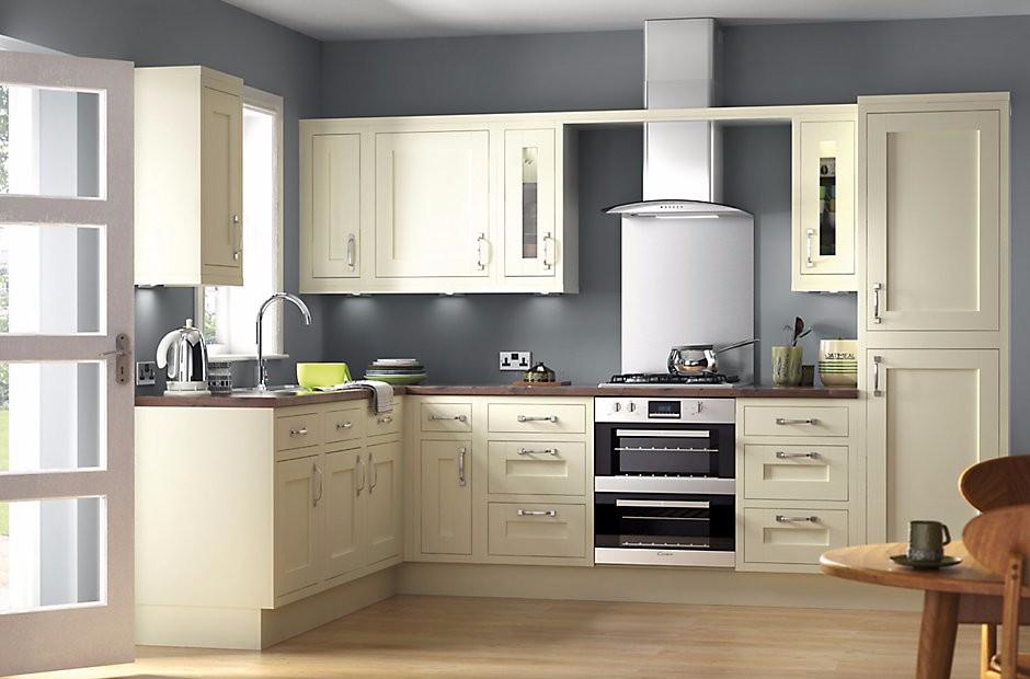 Massivholz Shaker Tür Weiße Farbe Küchenschrank Designs Für Kleine ...