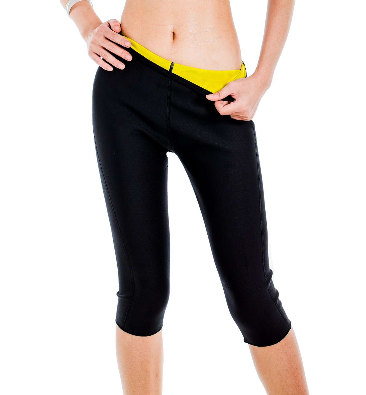 25d1c2d599 ValentinA Womens Slimming Pants Hot Thermo Neoprene Sweat Sauna Body Shapers