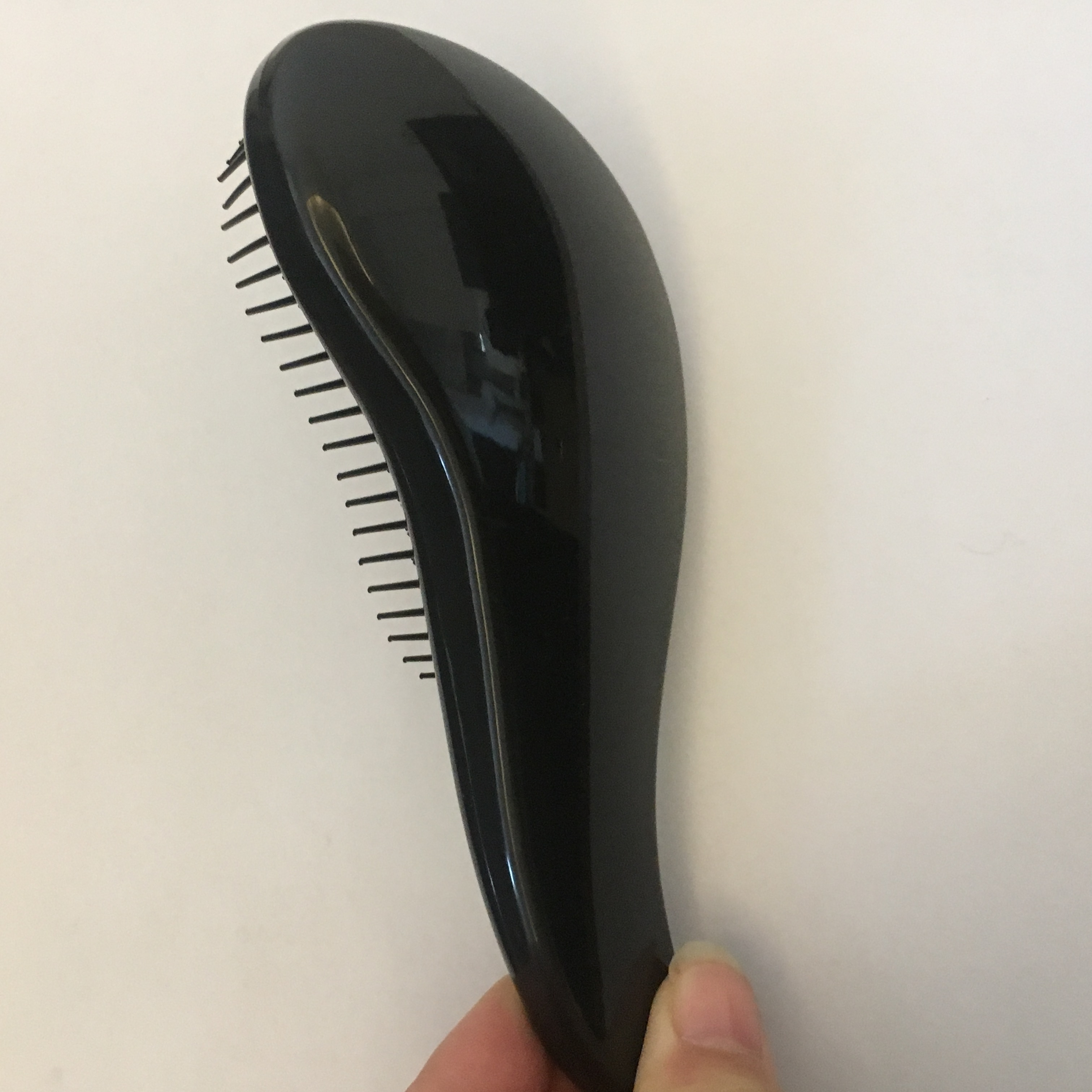 Wholesale plastic easy detangling hair brush massage magic comb