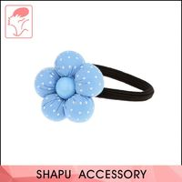 China supplier unique design colorful girl ponytail elastic holder hair band
