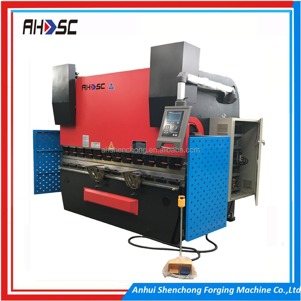 DA56s CNC Control System press brake foot pedals WC67K 200T 5000MM plate bending machine price list