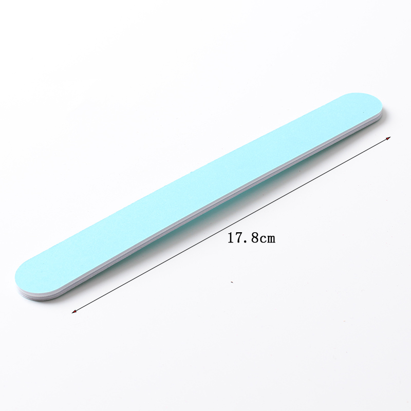 Connie Cona wholesale emery nail polishing tool custom double sides nail buffer