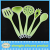 Food grade untensil kitchen tool spoon spatula Silicone utensil cooking tool set