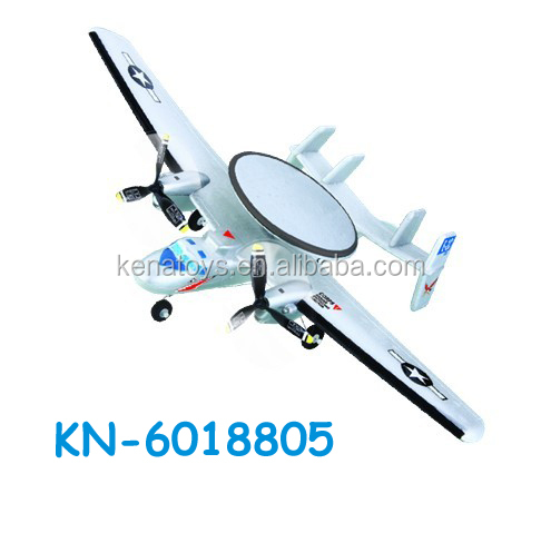 Good quality 2CH electric RC model air plane with night flight light rc glider