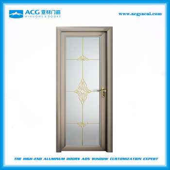 high quality/best seller Aluminum grilles opaque swing glass door building materials  sc 1 st  Alibaba & High Quality/best Seller Aluminum Grilles Opaque Swing Glass Door ...