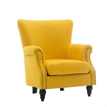 Clical Style Single Fabric Sofa