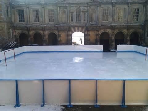 UHMWPE synthetic ice hockey rink sheet skating ice rink floor