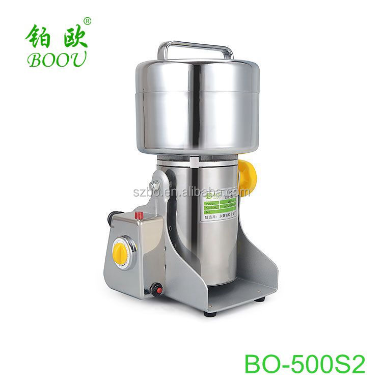 Portable Whole Herb Grinder Bo 500s2 Other Food Processing Machinery Small Scale Machines Machine For Herbs