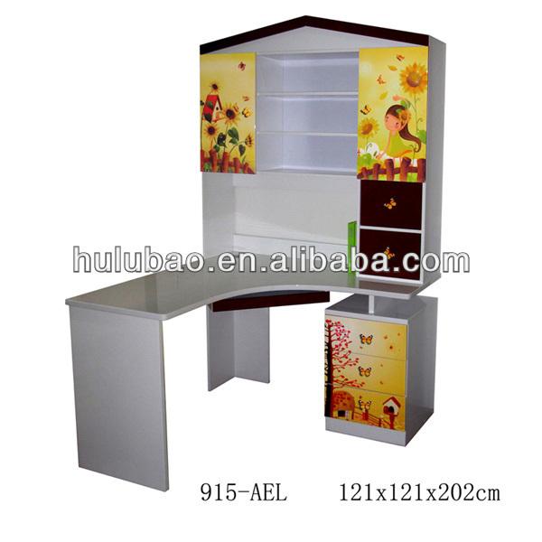 Kids White Wooden Corner Desk With Storage Board - Buy Kids Corner  Desk,Kids Corner Desk,Kids Corner Desk Product on Alibaba.com