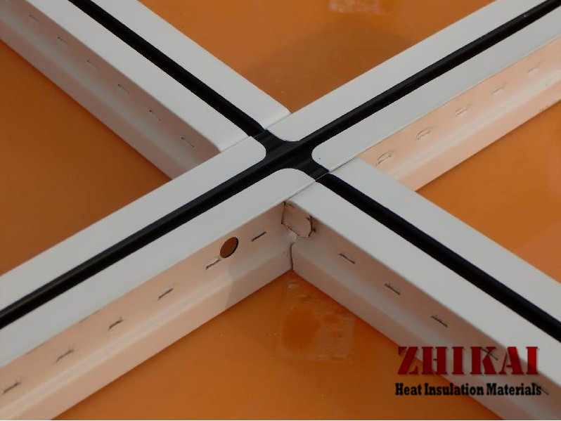 China Zero Clearance Ceiling Tile Grid System For Suspended