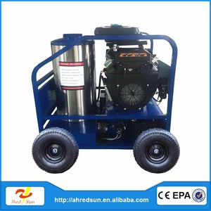Best jet power 24HP gasoline/petrol hot water high pressure washer 350Bar for sale
