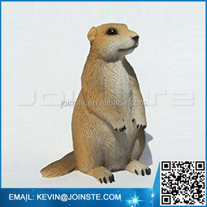 < Custom Accept> Ceramic Resin Prairie dog Figure, Polyresin Prairie dog figurine, Prairie dog Statue