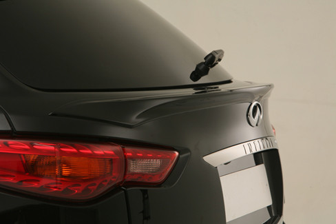 Boot spoiler for Infiniti FX35 FX37 FX50 QX70